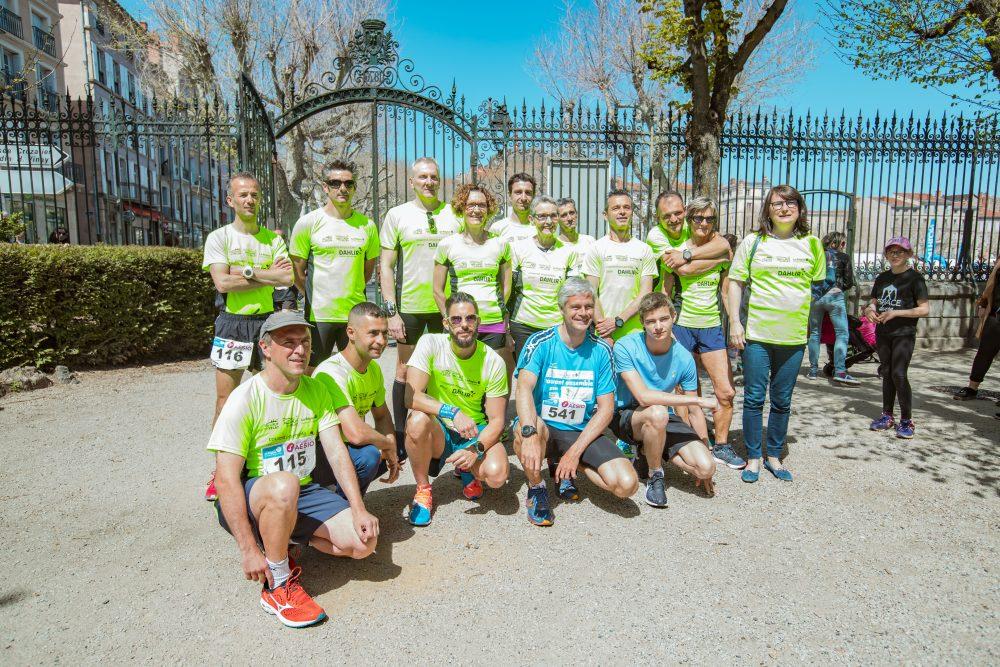 15 km du Puy : la Ville, l'Agglo et la Région ont porté les couleurs du DAHLIR en 2019