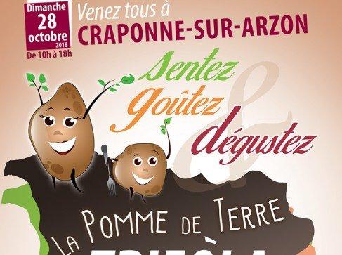 Le 28 octobre, Craponne-sur-Arzon célèbre la pomme de terre Trifola