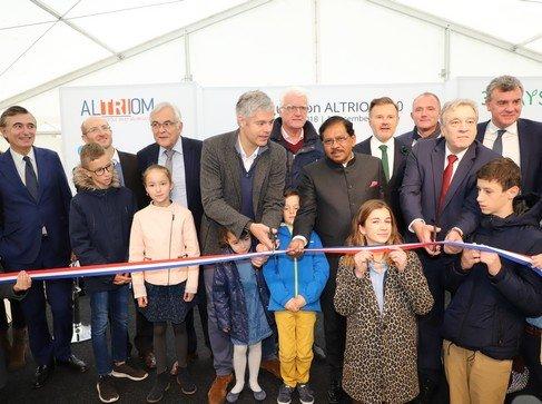 Altriom 2.0 inauguré le 1er décembre: une formidable technologie au service du tri et de la valorisation des déchets