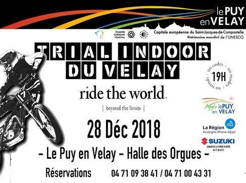Trail Indoor du Velay le 28 décembre à la Halle des Orgues d'Espaly : réservez votre place !