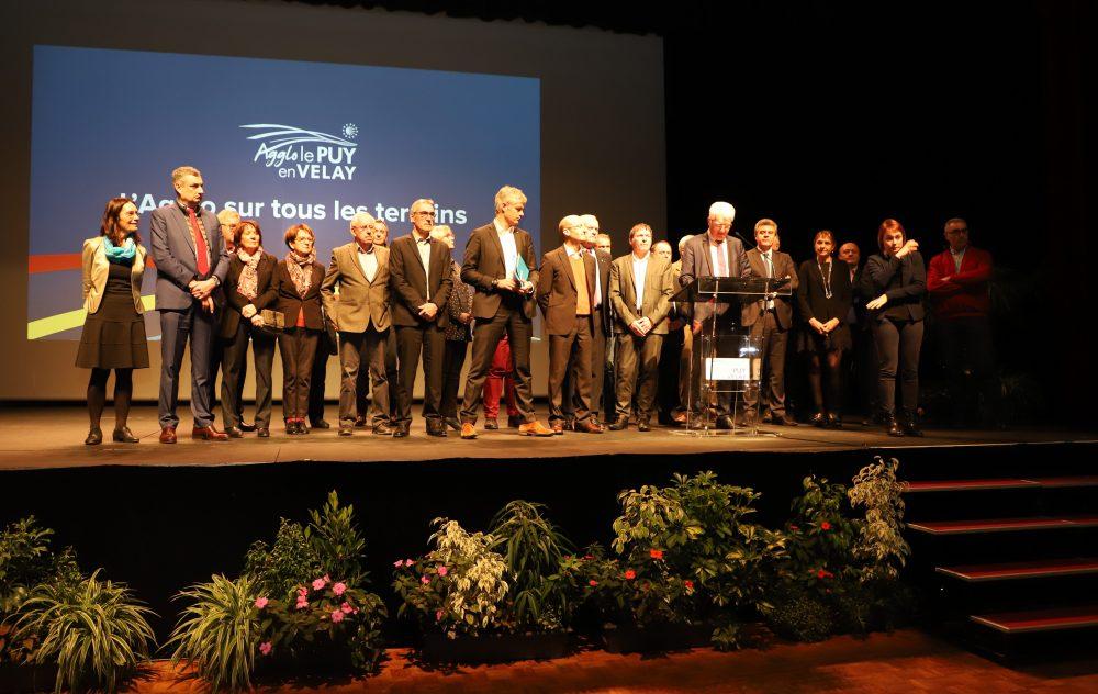 Discours de Michel Joubert, Président de l'Agglo, lors de la cérémonie des vœux de l'Agglo