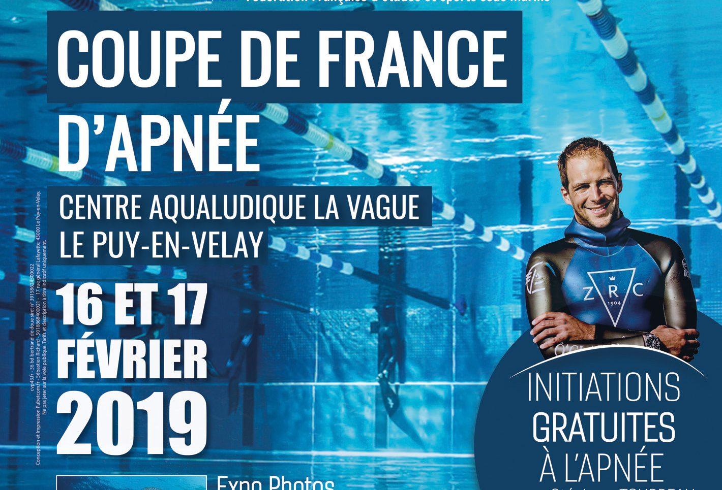 """Les 16 et 17 février à La Vague et au Ciné Dyke : compétition d'apnée et conférence/projection """" 700 requins dans la nuit """" avec Laurent Ballesta"""