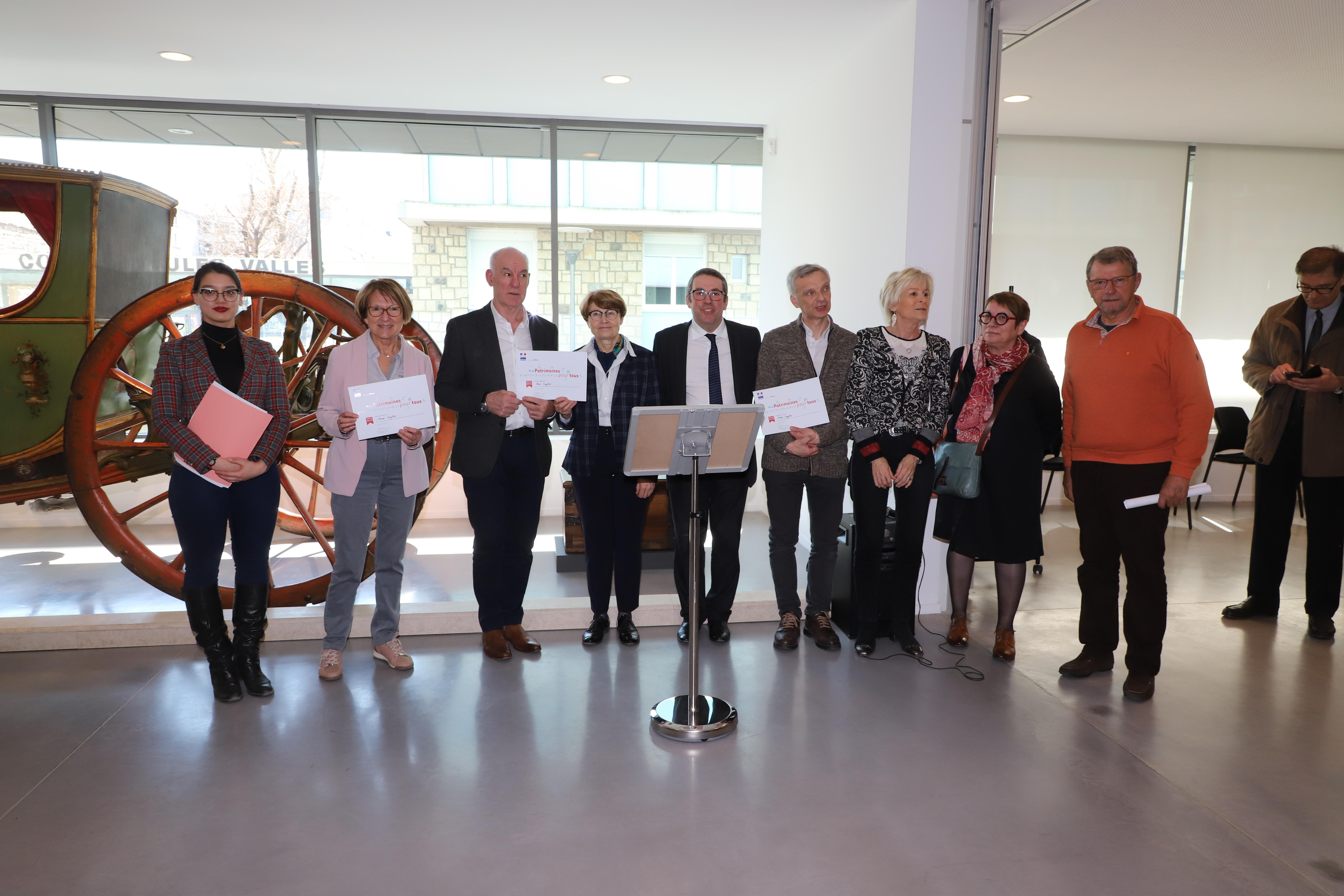 Le Musée Crozatier remporte le Prix  «Patrimoine pour tous»