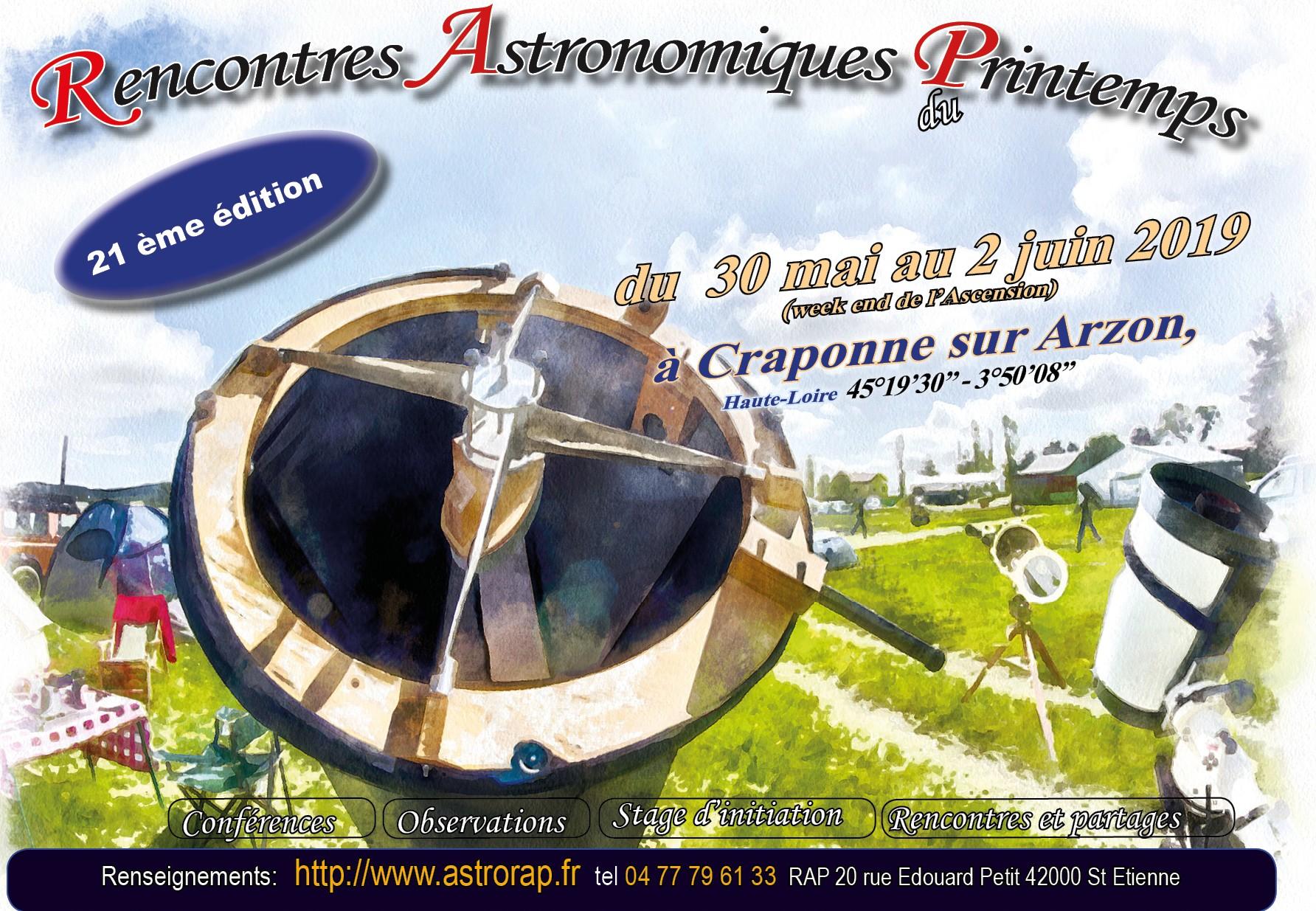 rencontres astronomiques du printemps