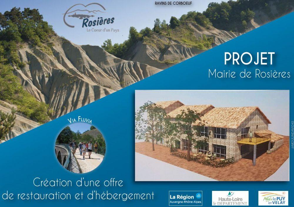 """Appel à candidature pour l'exploitation d'un complexe """"hébergement et restauration"""" à Rosières"""