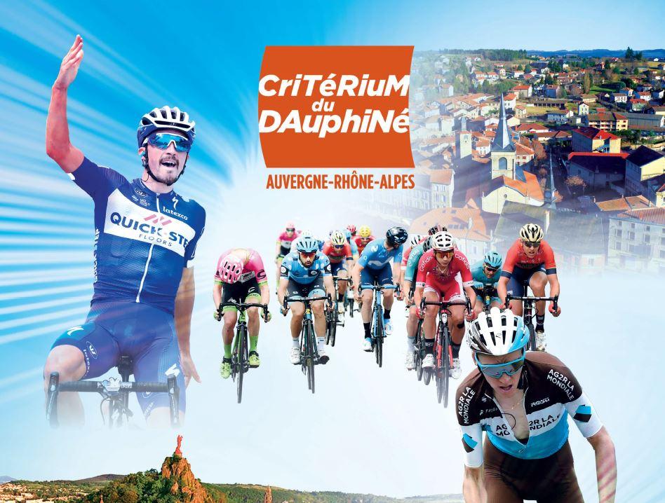 Le Critérium du Dauphiné à Craponne-sur-Arzon le 10 juin au Puy-en-Velay le 11 juin