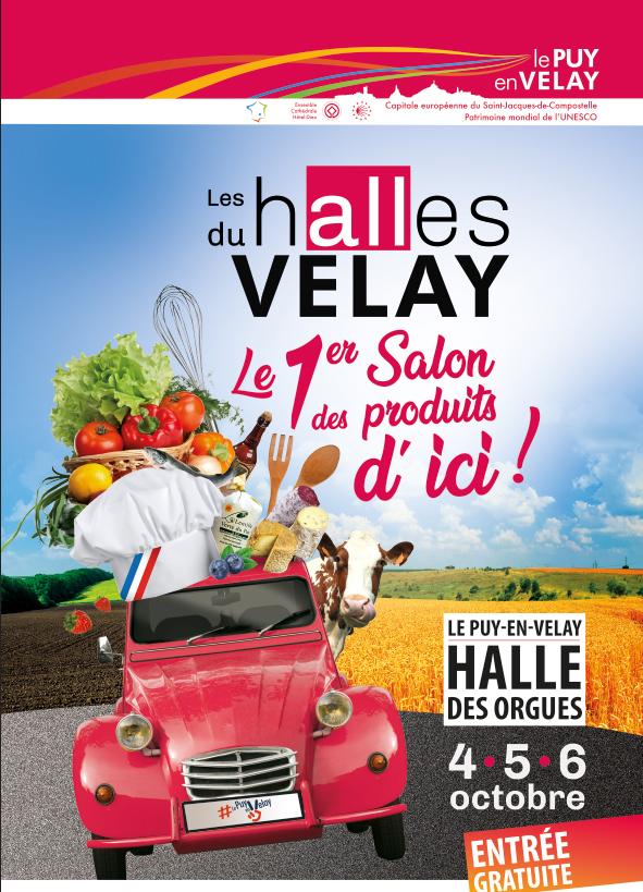 Les Halles du Velay :  le rendez-vous de la gastronomie et des produits locaux