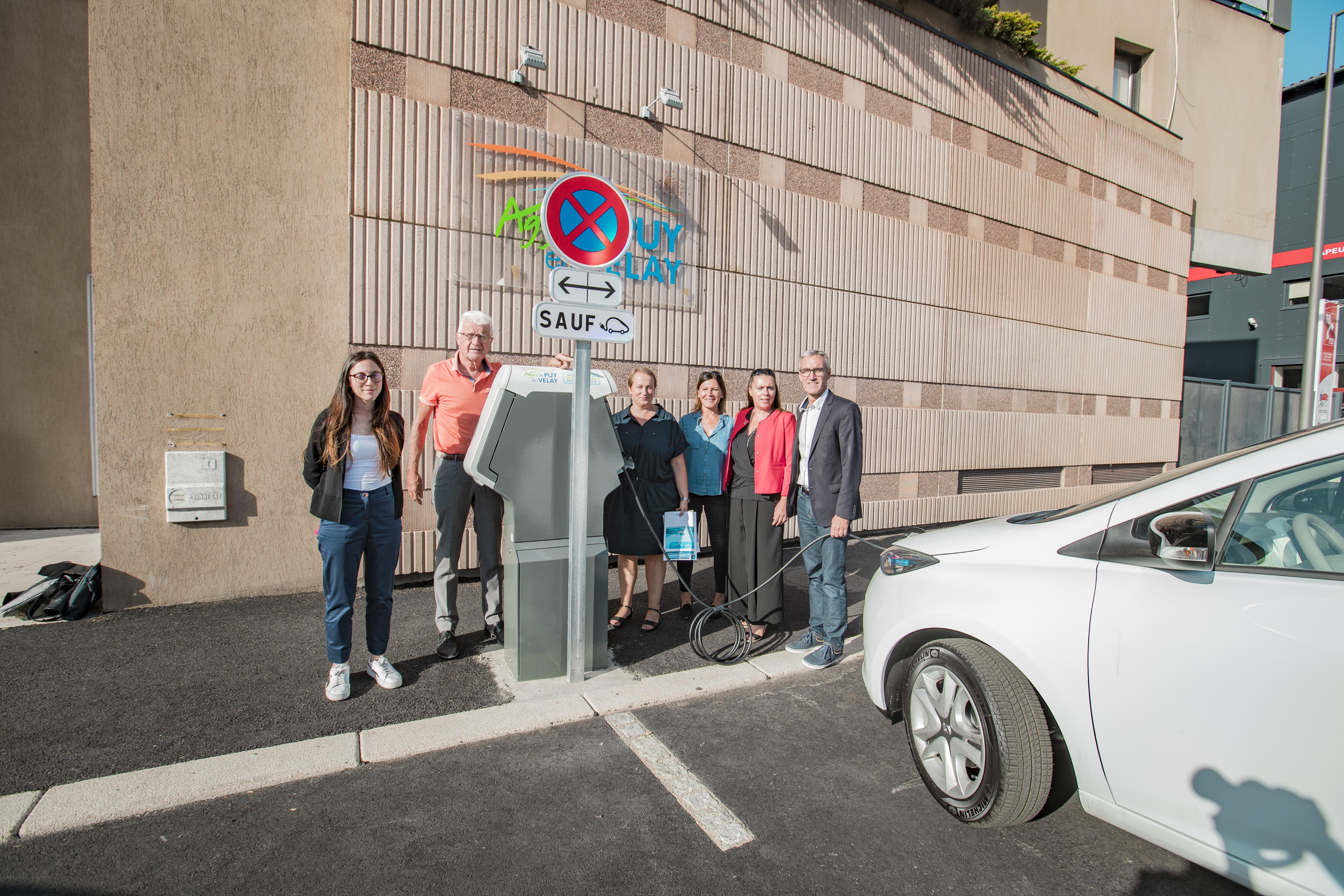 Enedis et la Communauté d'agglomération du Puy-en-Velay engagées ensemble dans le développement de la mobilité électrique