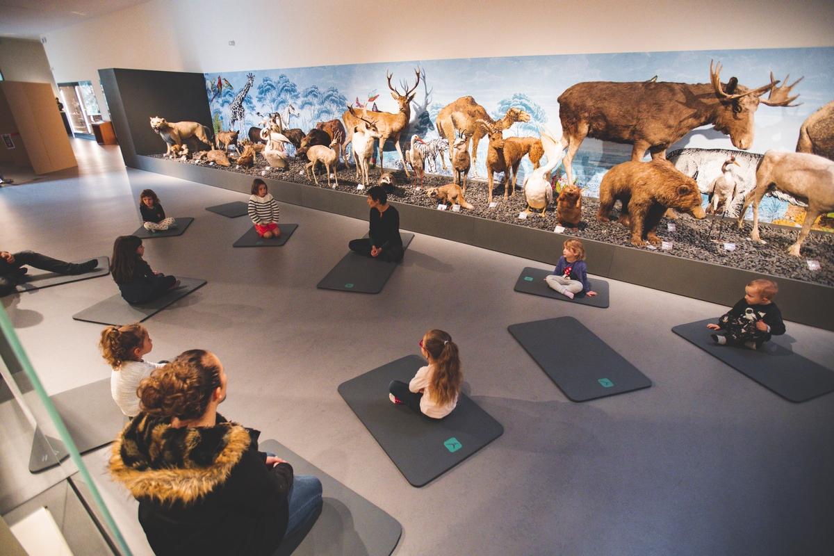 La semaine du yoga au musée Crozatier