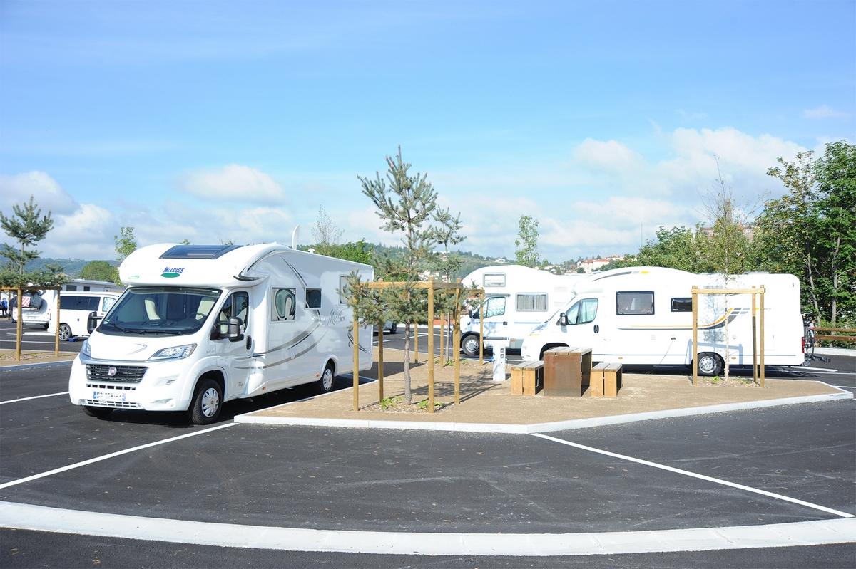 L'aire de camping-cars du Pôle Intermodal fait carton plein